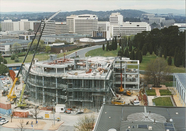 Construction of the ACT Magistrates Court at Knowles Place